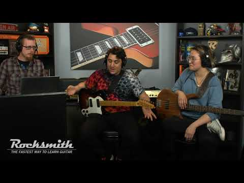 Rocksmith Remastered - The Pretty Reckless Song Pack - Live from Ubisoft Studio SF