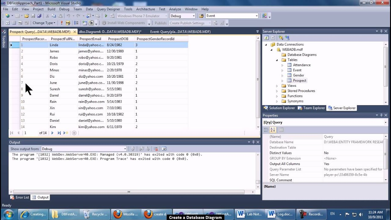 Create database diagram visual studio diy enthusiasts wiring create database diagram youtube rh youtube com create database diagram using visual studio 2013 create database diagrams visual studio 2010 ccuart Choice Image