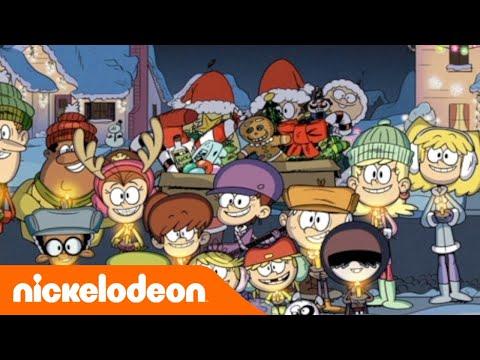 A casa dei Loud | La canzone di Natale dei Loud | Nickelodeon Italia