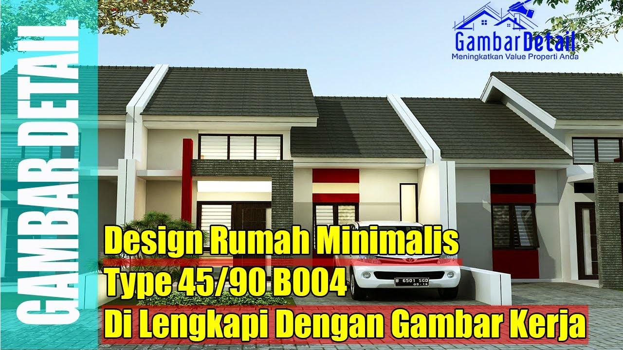 Gambar Desain Rumah Minimalis Type 45 90 Terbaru Desain Rumah