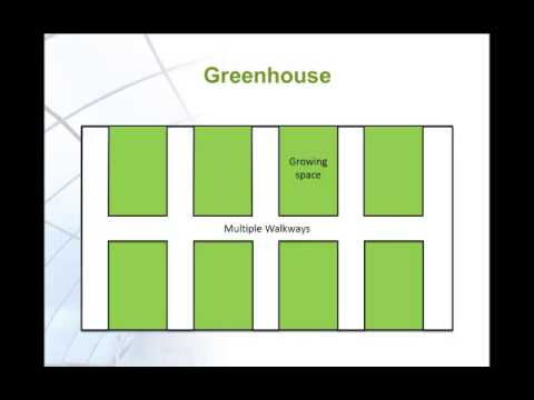Greenhouse site selection and layout