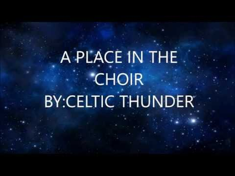Celtic Thunder A Place in the Choir-Lyrics