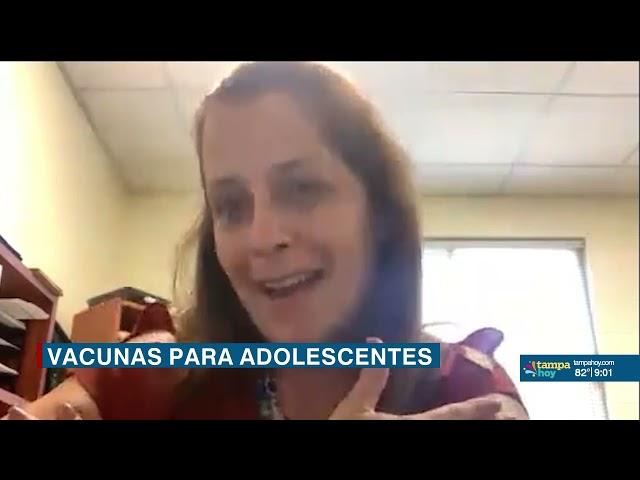 Vacunas del COVID-19 para adolescentes entre 12 y 15 años