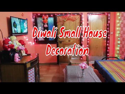 Diwali house decoration/ Small House Decoration Ideas/ Diwali Home Tour