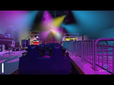 Rock n rollercoaster Walt Disney studio's Paris 3D remake