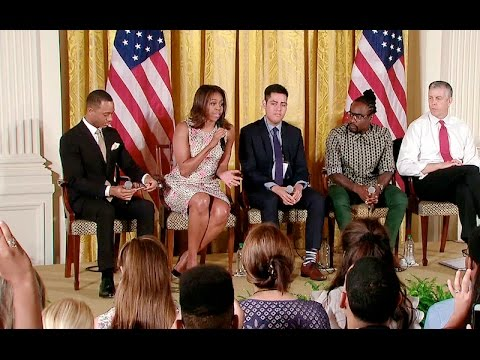 """The First Lady Hosts the """"Beating the Odds"""" Summit"""