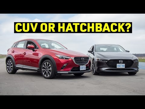 Can a CUV Be SPORTY? 2019 Mazda CX-3 Track Review