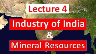 Geography Lecture 4 - Industries Of India And Mineral Resources | GS For SSC CGL Exam 2020