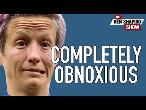 Soccer Star Rapinoe Is Completely Obnoxious