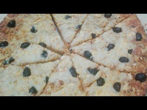 صورة  طريقة عمل البيتزا اسهل طريقة لعمل البيتزا بالجبنه|| مع ماما عبير||🍴 طريقة عمل البيتزا من يوتيوب