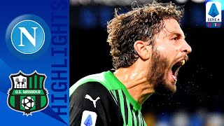 Sassuolo claim all 3 points away at napoli in an end-to-end tie as maxime lopez sealed victory injury time for i neroverdi | serie a timthis is the offici...