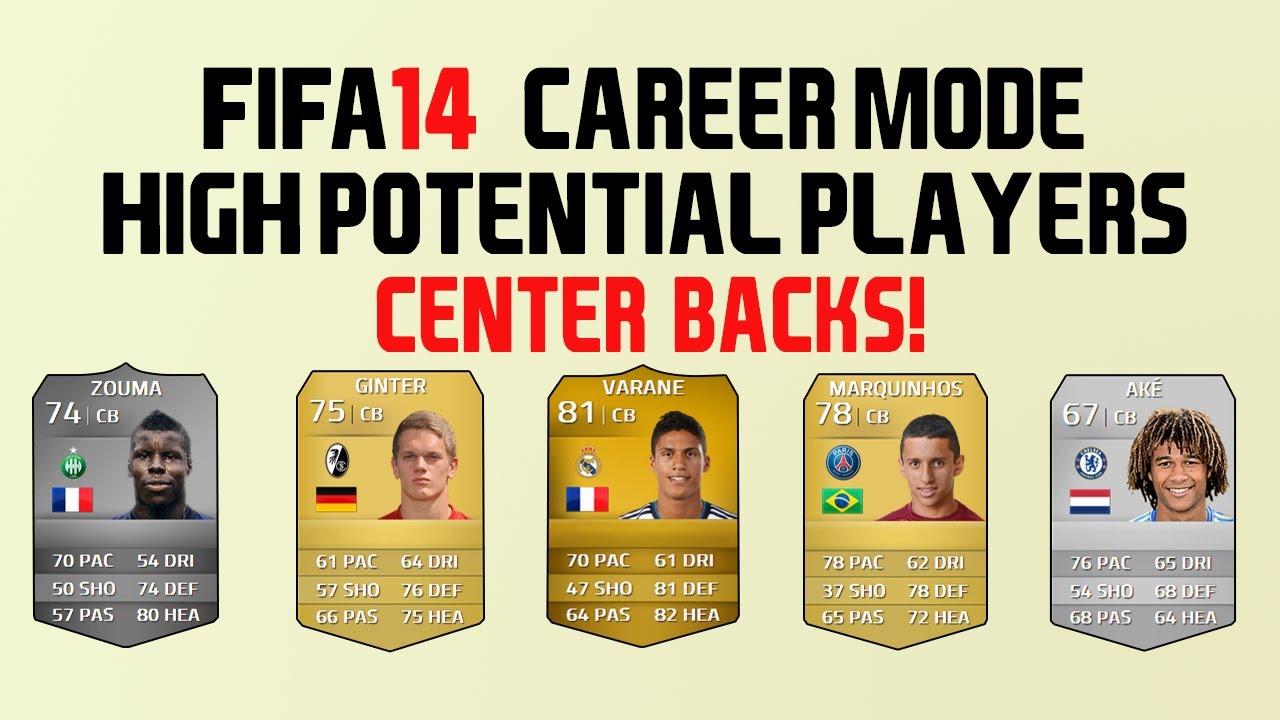 Best deals fifa 14 career mode