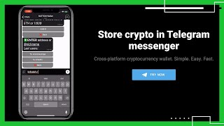 Button Wallet lets you use crypto in Telegram