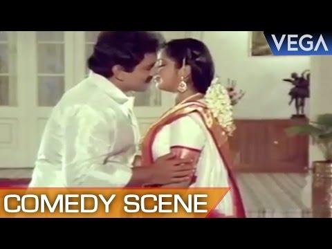 Prabhu and Radhikas Funny First Night Scene || Manamagale Vaa Tamil Movie || Comedy Scene