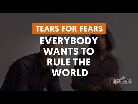 Everybody Wants To Rule The World - Tears For Fears (aula de violão)