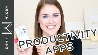 TOP PRODUCTIVITY APPS: The 5 iPhone apps I use every day!
