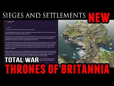 Total War: Thrones of Britannia - Sieges and Settlements (Forum News Update)
