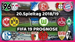 20.Spieltag - Konferenz + Alle Highlights und Tore - Bundesliga Prognose I FIFA 19 Deutsch (HD)