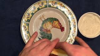 ASMR : Calvert eating Hot dogs and french onion dip
