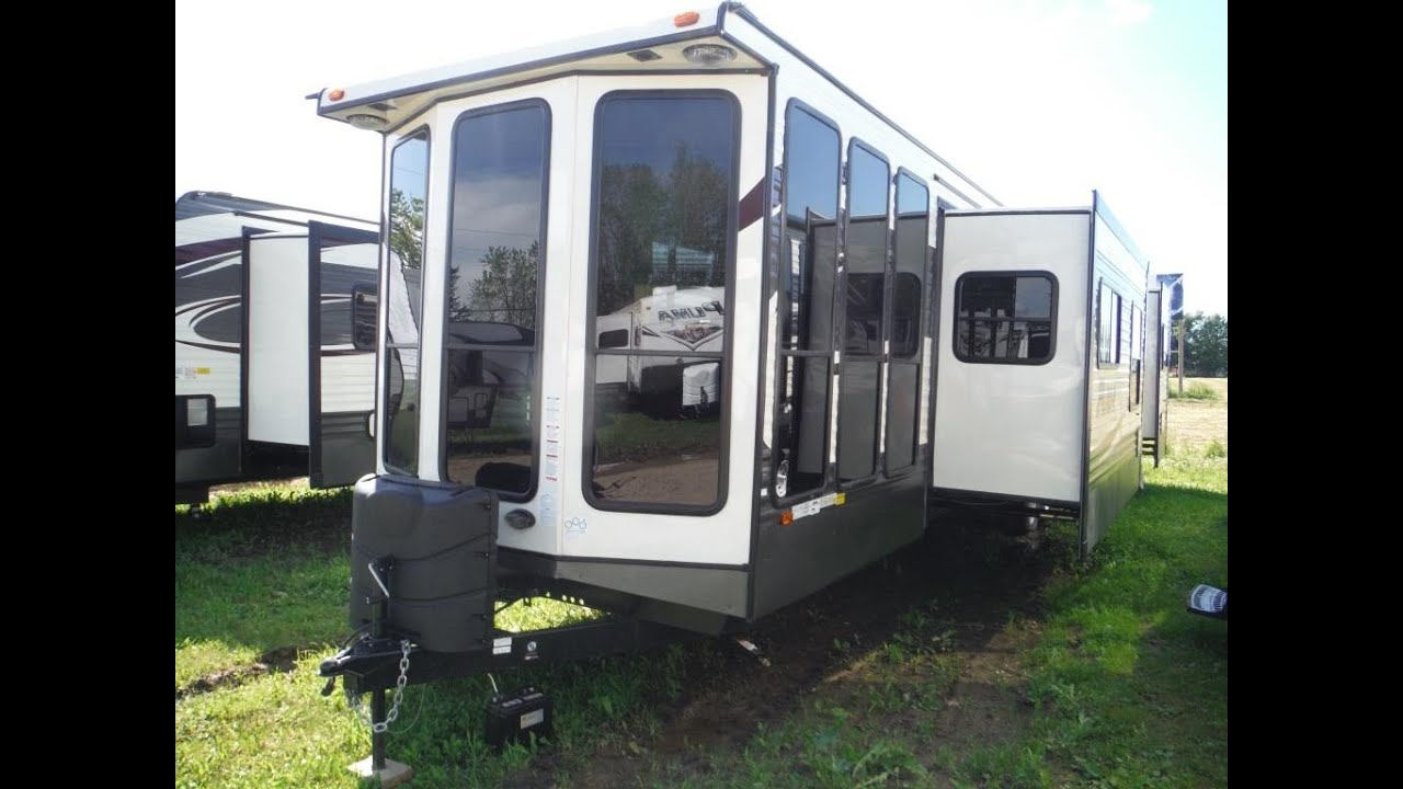 2016 puma 38pfs park model trailer @ camp-out rv in stratford