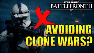 Are EA Avoiding Clone Wars DLC? - (New Clone Wars DLC, Customization Update) Star Wars Battlefront 2