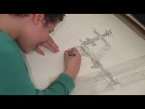 how to draw the iss