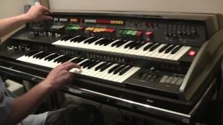 Элка х-705 ''космос орган'' моно синтезатор