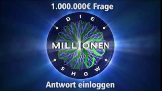 1.000.000€ Frage - Antwort einloggen | Millionenshow Soundeffect