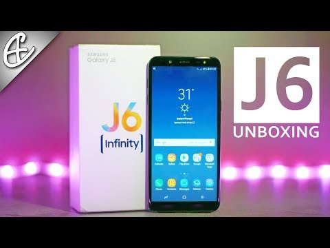 Samsung Galaxy J6 Unboxing & Hands On - Infinity Display & WHAT???