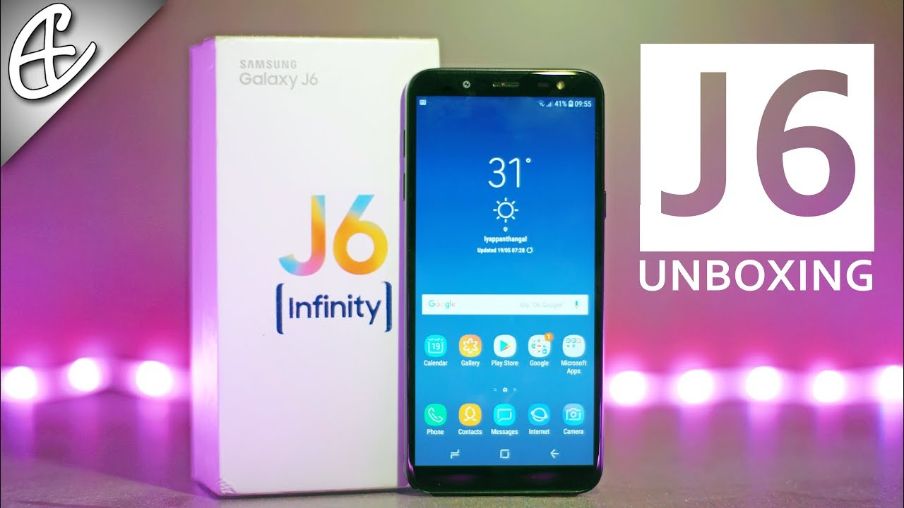 new style 12917 fd934 Samsung Galaxy J6 Unboxing & Hands On - Infinity Display & WHAT???