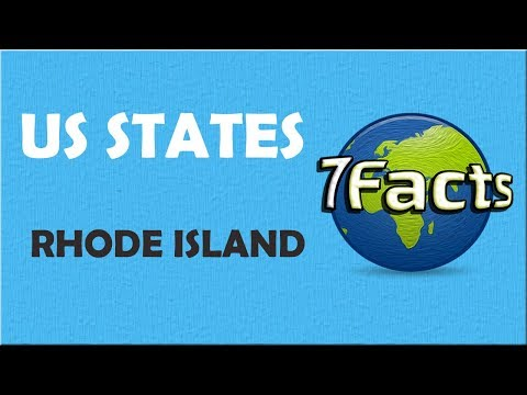 7 Facts about Rhode Island