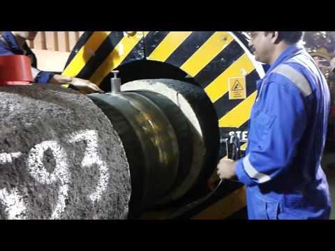 offshore pipe line xray crawler icm.