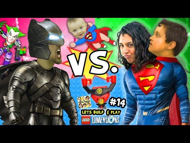 batman vs superman lets build play lego dimensions 14 w superbaby lord business joker