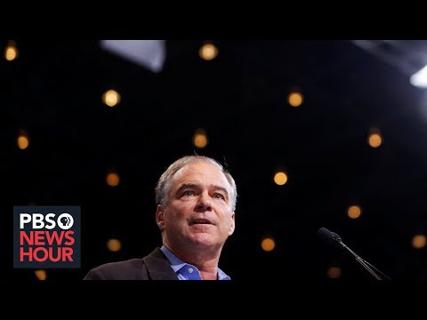 PBS NewsHour: Tim Kaine on Shanahan allegations, Mark Esper and tensions with Iran