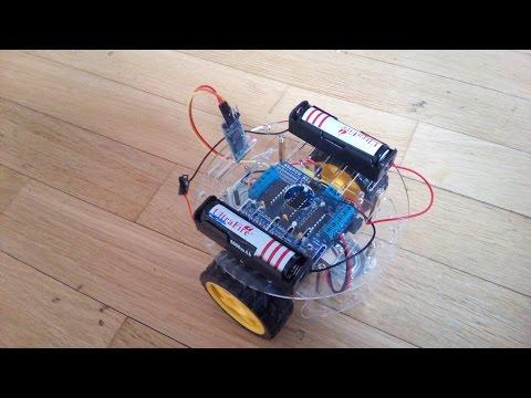 Bluetooth Машинка Своими Руками! На Arduino. - Обзор. (v3)