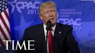 President Trump Is Still Talking About Sweden At CPAC 2017 | TIME