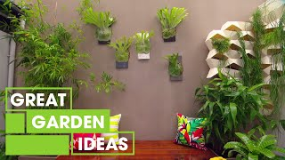 How To Make Your Own DIY Vertical Garden | Gardening | Great Home Ideas