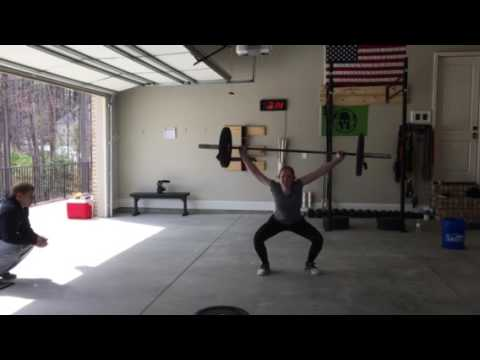 CrossFit Open Workout 17.3: Emily Ting