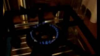 First Trial of Biogas Stove in our Kitchen