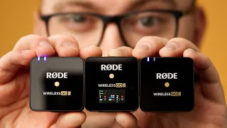 The Rode Wireless GO II Mics ROCK!