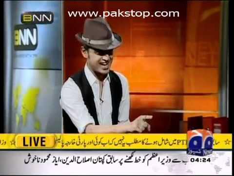 Atif Aslam vs Ali Azmat (funny clip from BNN) - funnyblips