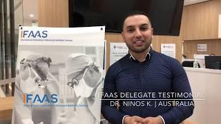 IFAAS Delegate Testimonial - Dr. Ninos K. | Australia