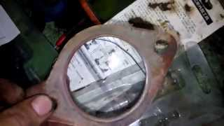 Subaru Forester ремонт катализатора.