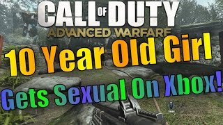 CRAZY 10 Year Old GIRL Gets SEXUAL On XBOX LIVE!!