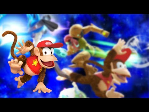 Diddy Kong in Smash Bros. + Free Pokemon X & Y Promotion from Nintendo