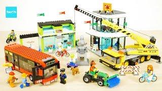 レゴ シティ ショッピングスクエア 60026 セット説明 8:58~ / LEGO City Shopping Square