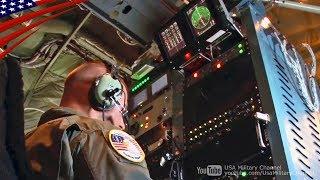 【空飛ぶ放送局】テレビ・ラジオを電波ジャックする特殊飛行機の機内映像 - EC-130Jコマンド・ソロ
