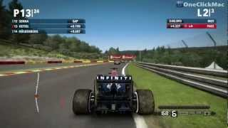 F1 2012 for Mac Gameplay - OneClickMac