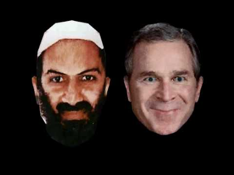Mission Accomplished - George W Bush and Osama Bin Laden sing the power by snap