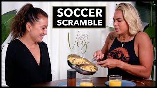 A Soccer Scramble: Girls Gone Veg Premiere | I AM ATHLETE